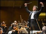 Alan Gilbert conducts the New York Philharmonic. In Ann Arbor, the University Musical Society will host three concerts by the group scheduled for 8 p.m. Friday, 8:30 p.m. Saturday, and 3 p.m. Sunday in Hill Auditorium.