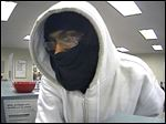 Suspect in bank robbery at KeyBank branch on South Byrne Road.