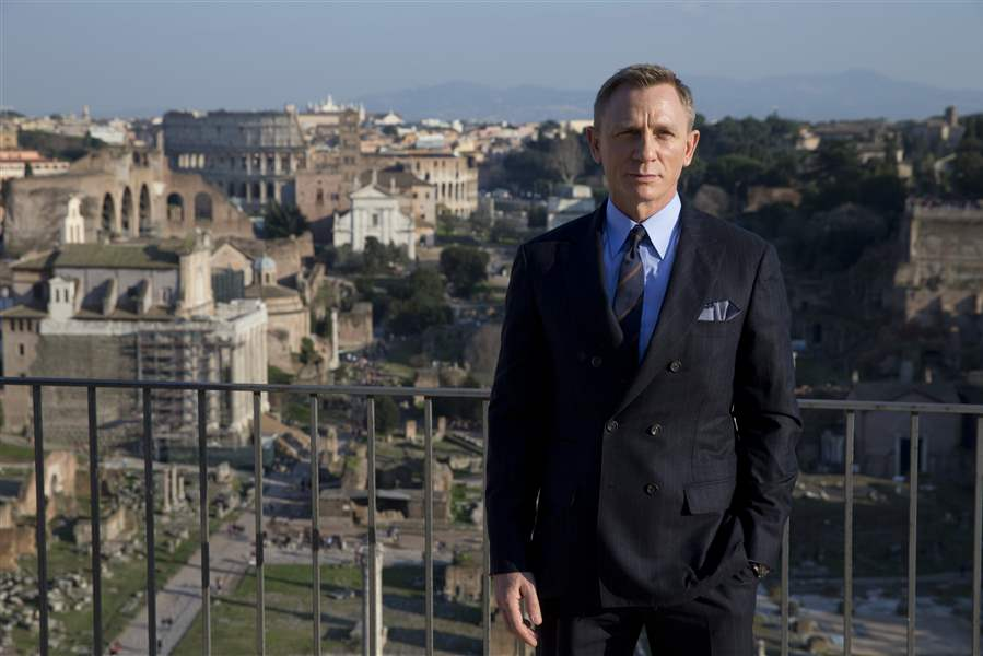 25th James Bond movie coming to theaters November 2019