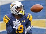 Toledo wide receiver Diontae Johnson is one of just five freshman for the Rockets this season that have seen playing time.