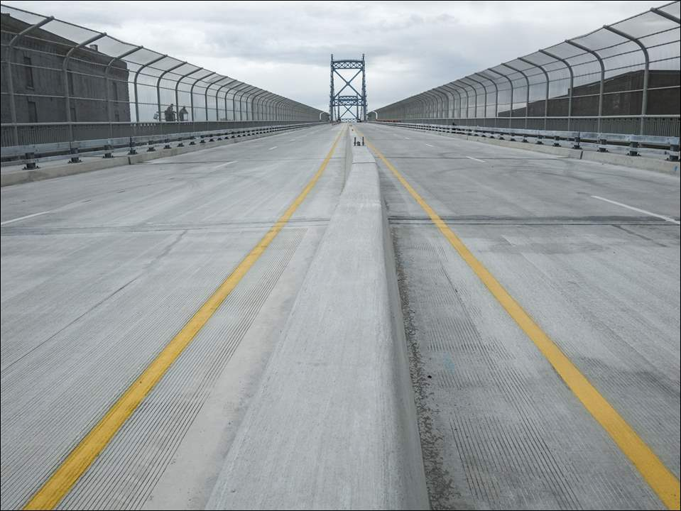 The Anthony Wayne Bridge is ready to reopen, Thursday, Oct. 15,  2015.