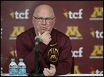 Minnesota coach Jerry Kill announced his retirement at a news conference Wednesday. He had missed four games in his five seasons at Minnesota because of health reasons.