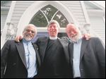 Imam Jamal Rahman, the Rev. Don Mackenzie, and Rabbi Ted Falcon will give five talks in northwest Ohio on Nov. 7 and 8.