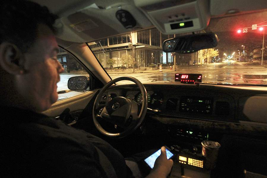 Cab Toledo Ohio >> Taxi drivers talk Uber, Lyft issues - The Blade
