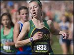 Clay's Haley Hess finished 14th in the D-I state cross country meet.