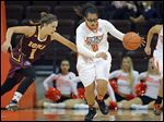Bowling Green's Erica Donovan averaged 15.3 points and 9.1 rebounds before a season-ending knee injury last year.