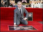Daniel Radcliffe attends a ceremony honoring him with a star on the Hollywood Walk of Fame. The 'Harry Potter' actor will appear in 'Victor Frankenstein,' due in theaters later this month.