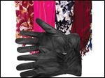 Accessories such as gloves and scarves give you a chance to add some fashion  air in winter.