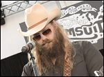 Musician Chris Stapleton performs onstage during 2015 Sports Illustrated Swimsuit's