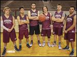 Rossford is picked to defend its Northern Buckeye Conference title with top players, from left, Jacob Perry, Matt Fuerst, Jeff Hodak, Erik Davis, Ben Sauter, and Cota Sinclair.