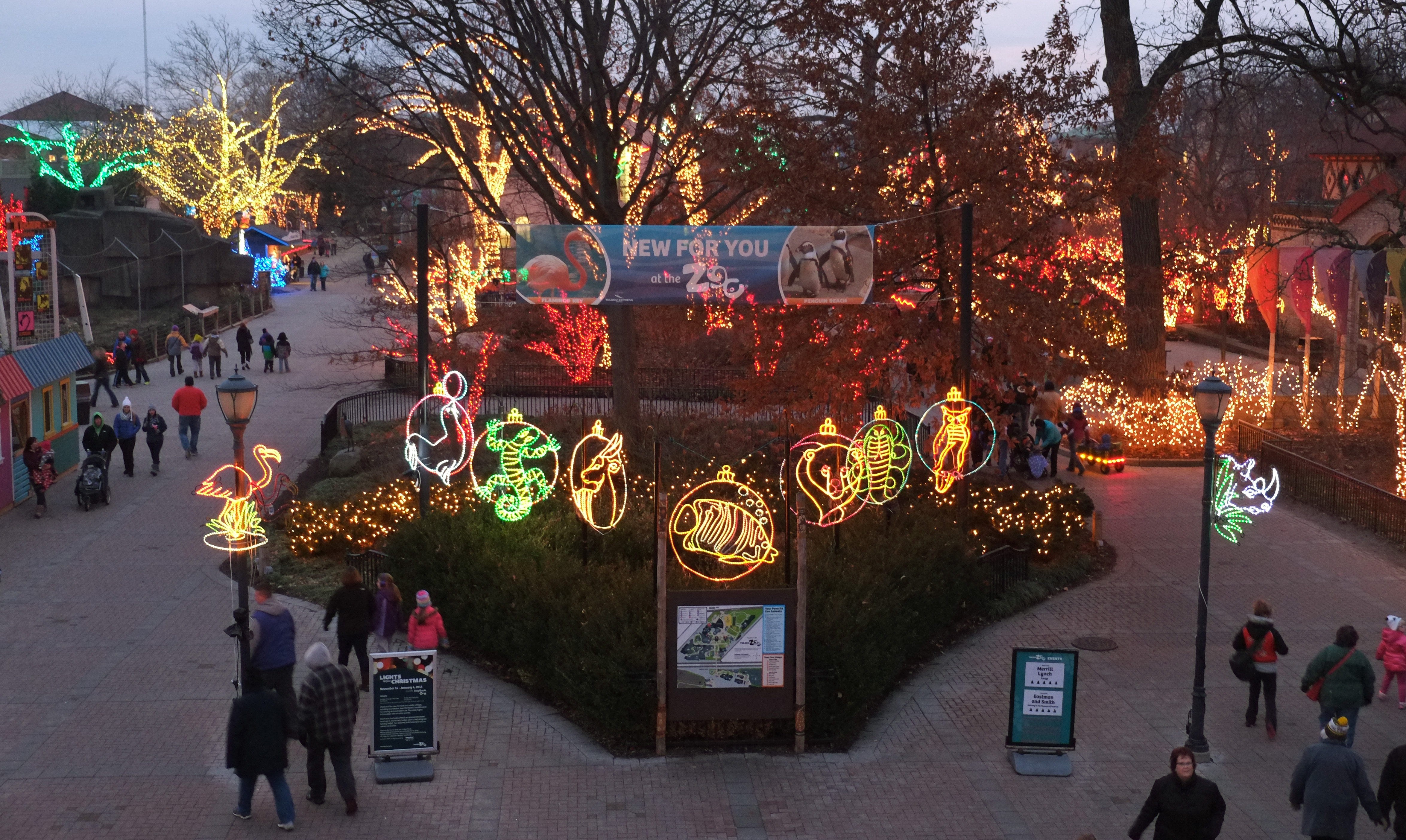 Christmas Lights Columbus Ohio