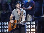 Thomas Rhett is performing tonight as part of CMT's Suits & Boots tour.