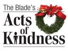 2015 The Blade's acts of kindness logo