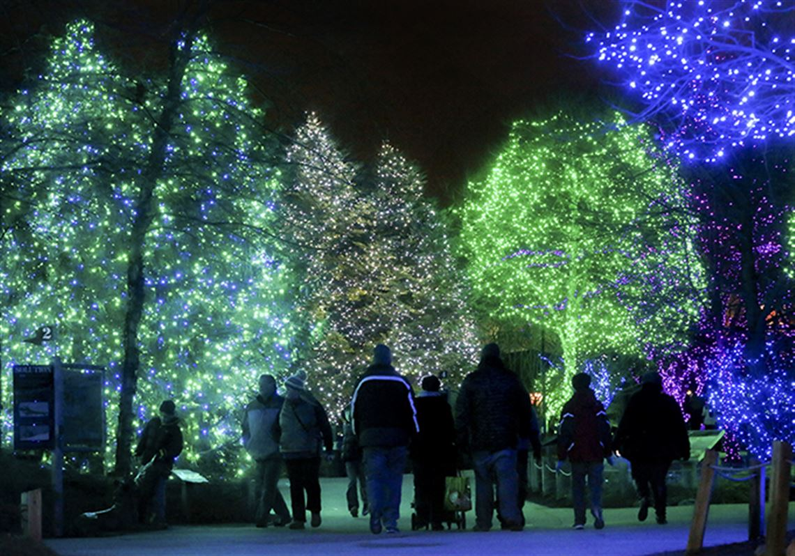 Toledo Zoo's lights set attendance record | Toledo Blade