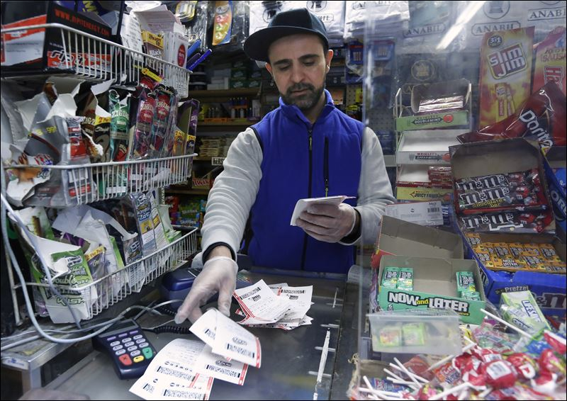 100 to 1 odds payout powerball after taxes