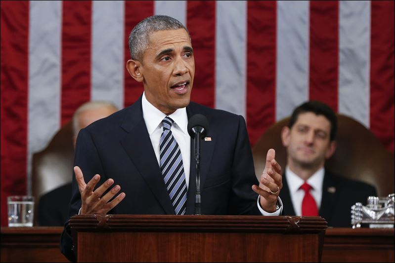 Obama's State Of The Union Address Rails Against Racism, Intolerance