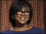 Academy President Cheryl Boone Isaacs announces the Academy Awards nominations at the 88th Academy Awards nomination ceremony in Beverly Hills, Calif., last week.