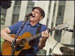James Taylor performs on NBC's
