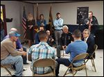 Ohio Attorney General Michael DeWine spent a day in Toledo last week, speaking with members of the Drug Abuse Response Team, run by the Lucas County Sheriff's Office, as well as with several recovering addicts whom the unit had helped.