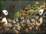 This image released by DreamWorks Animation shows a scene from