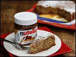 Banana Nutella Cake.