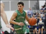 Hunter Sieben, a 6-foot-1 junior guard, leads Ottawa Hills in scoring (15.8) and rebounding (6.2).