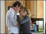 Benjamin Walker, left, and Teresa Palmer in a scene from
