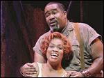 Laquita Mitchell (pictured with Eric Owens) stars as Bess in 'Porgy and Bess.'