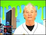 The Toledo Mud Hens last year held a Ghostbusters Night, which featured a promo by actor Bill Murray. In one of the opening scenes of 1989's 'Ghostbusters II,' a washed-up Peter Venkman, played by Murray, is told the world would end on Feb. 14, 2016. 'Valentine's Day,' Venkman says, looking into the camera. 'Bummer.'