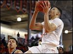 Bowling Green's Antwon Lillard goes up for a shot Saturday against Western Michigan at the Stroh Center.