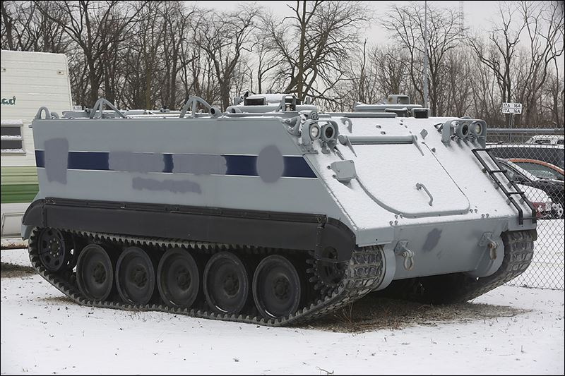 Toledo Police To Give Back Its Armored Vehicle Toledo Blade