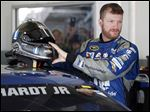Dale Earnhardt, Jr., opted to give Amelia — a car from last season — another shot at Victory Lane.