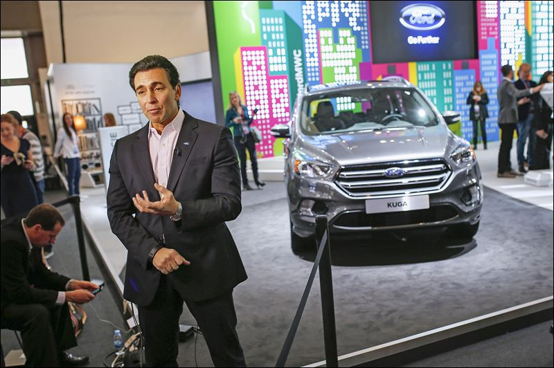 Automaker looks to expand into autonomous cars toledo blade Ford motor company technology