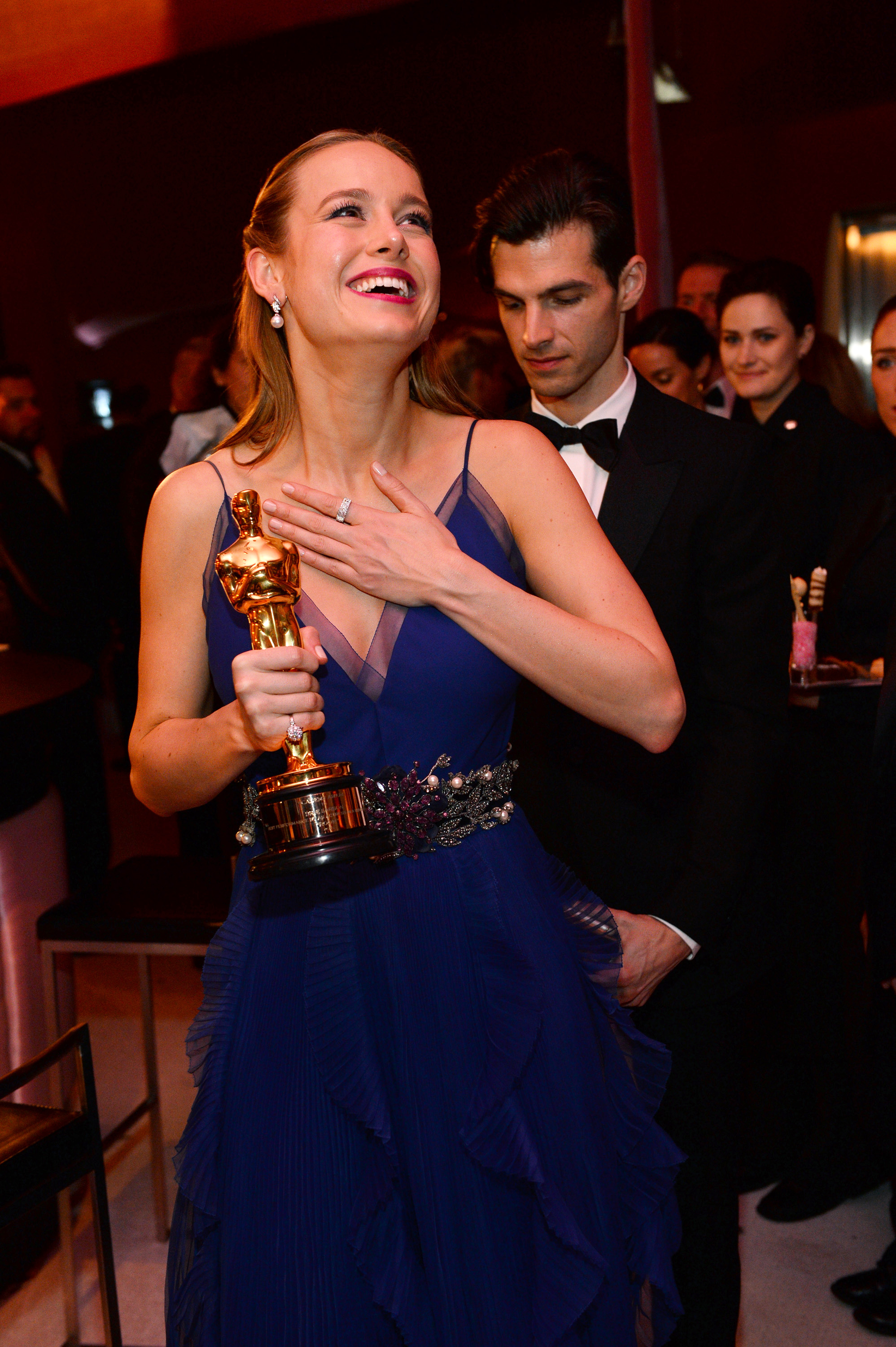 Oscar winners party it up at vanity fair governors ball for Oscar awards winning movies