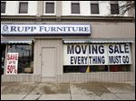 Rupp Furniture is closing its Bryan store, which has been downtown for about 40 years, and consolidating inventory to its original Archbold location. The shift is not about the economy; all three partners are close to retirement age.