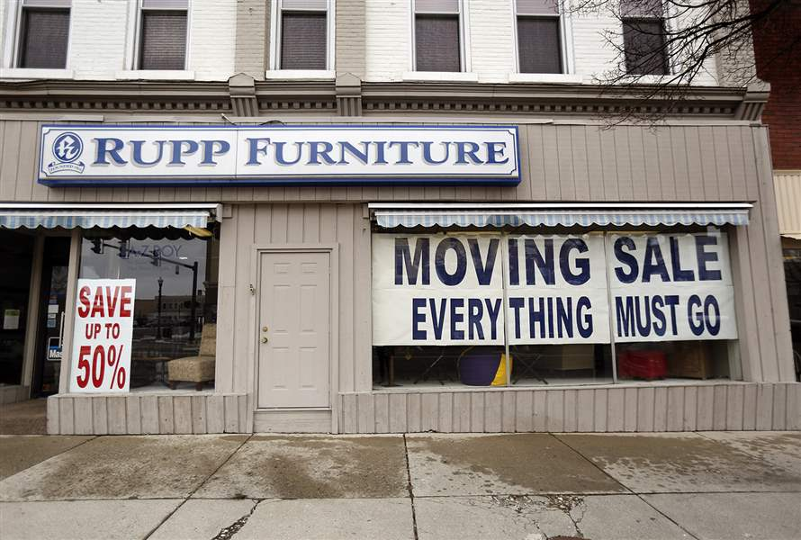 Rupp Furniture Is Closing Its Bryan Store, Which Has Been Downtown For  About 40 Years, And Consolidating Inventory To Its Original Archbold  Location.