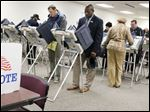 Early votes are cast ahead of the primary election earlier this month. The Lucas County Board of Elections threw out the provisional ballots of 463 voters Tuesday.