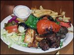 Sidon's Mixed Grill from Sidon Lebanese Grille & Bakery.