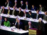 Federal Reserve Chairman Janet Yellen addresses an Economic Club of New York luncheon Tuesday.