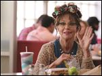 Sally Field waves while playing the title character in 'Hello, My Name Is Doris.'