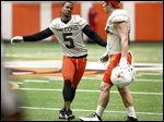 Wide receiver Ronnie Moore brings 'unbelievable' energy to the field for Bowling Green, new coach Mike Jinks noted.