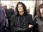 Rock and Roll Hall of Fame shock rocker Alice Cooper returns to Toledo for an Oct. 4 concert at Stranahan Theater, 4645 Heatherdowns Blvd.