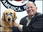 Richard 'Dick' Ransom was a longtime benefactor to Assistance Dogs of America, a cause he believed in.