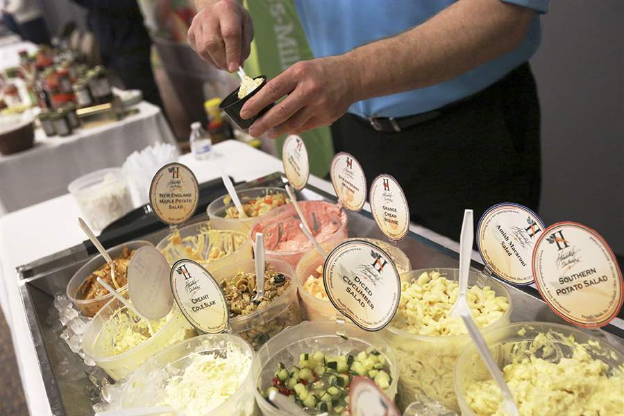 Public gets taste of local food buyer show the blade for Cuisine 101 incorporated