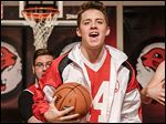 Senior Jake Myers stars in Perrysburg High School's 'High School Musical.' Jake, a football and basketball player, portrays Troy Bolton, a basketball player who gets the lead in his high school's musical.