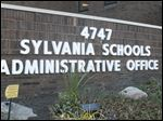 The Sylvania Schools Administration Building in Sylvania, Ohio.