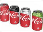 Coca-Cola says cans and bottles will prominently feature a 'red disc' reminiscent of regular Coke, in addition to the colors already associated with each brand.