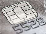 Visa says  new chips will let customers dip and remove cards during checkout.