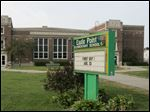 Exterior of Eagle Point Elementary School, which would be closed if a Rossford Schools levy passes this year.