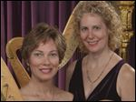 The Salzedo Duo, featuring harpists Nancy Lendrim and Jody Guinn, is scheduled to perform at 3 p.m. Sunday at St. Timothy's Episcopal Church in Perrysburg.